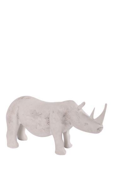 Resin Rustic Rhino
