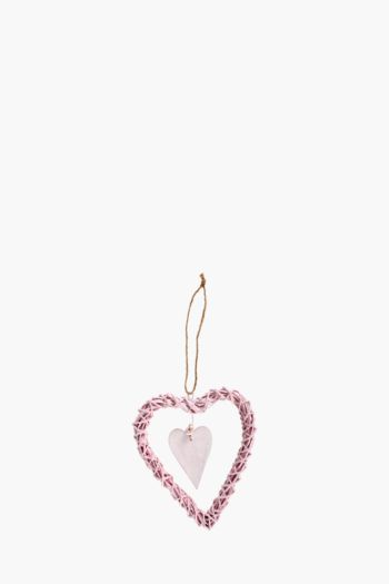 Willow Hanging Heart, Medium