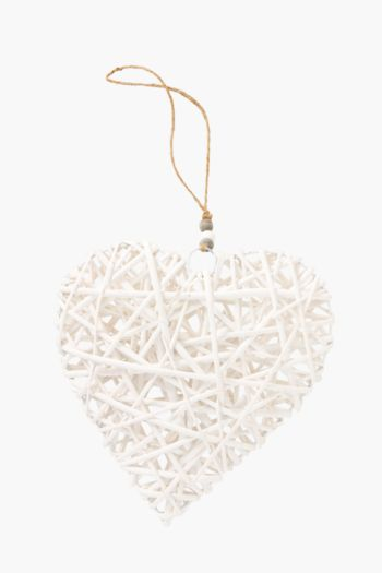 Woven Hanging Heart Large