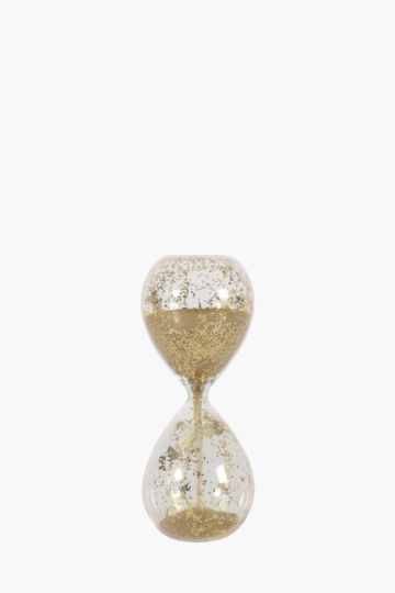 Glitter Glass Hourglass