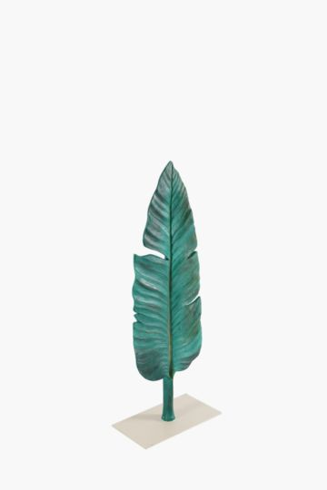 Palm Leaf On Plinth Medium