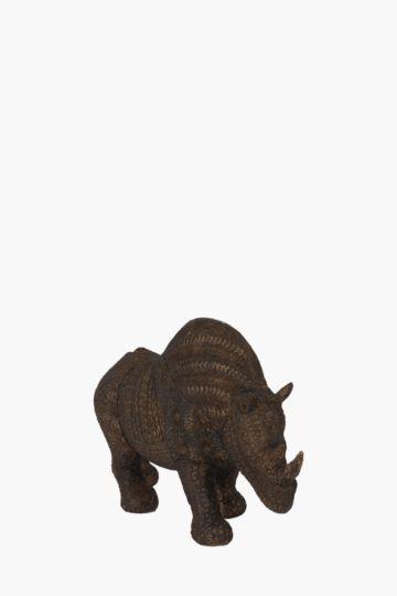Resin Rhino Statue