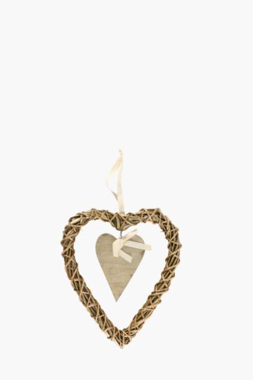 Willow Hanging Heart, Large
