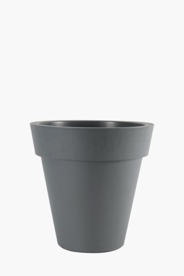 Plastic Lipped Planter, 45cm