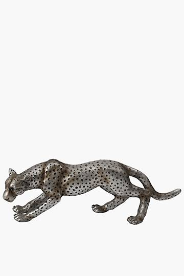 Antique Cheetah Statue
