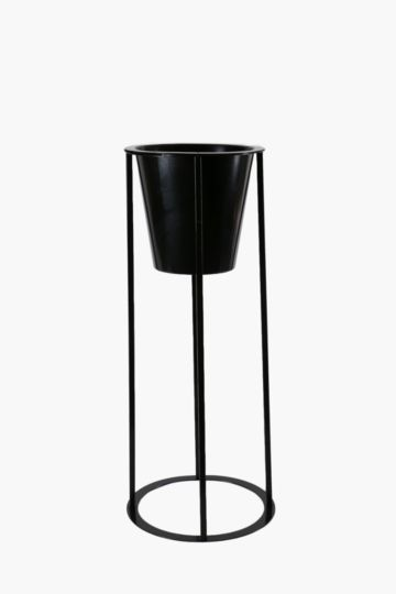 Wire Metal Stand Planter Large