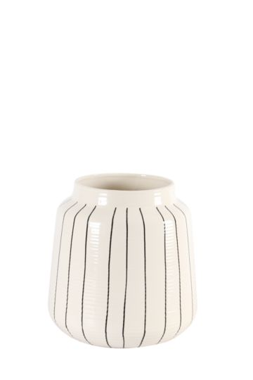 Pen Line Ceramic Urn Extra Large