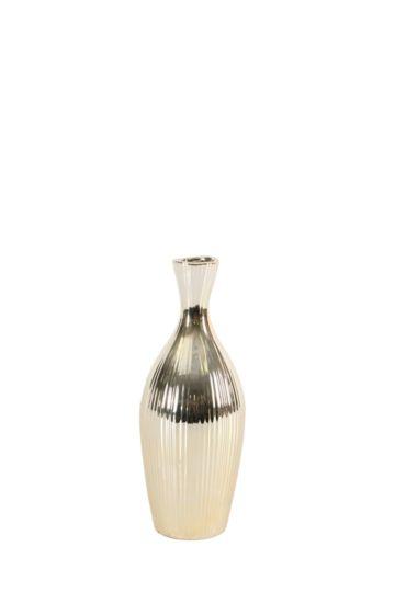 Linear Ceramic Bottle Vase