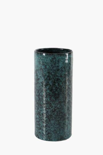 Speckle Cylinder Vase