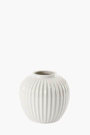 Ribbed Classic Belly Urn