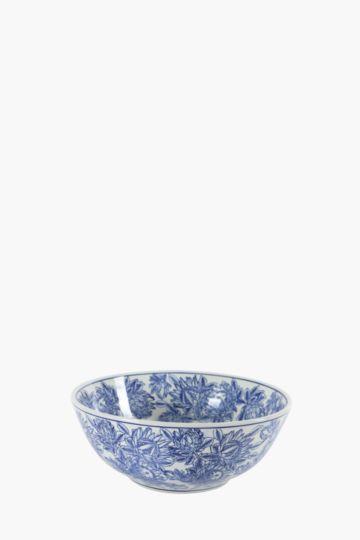 Delft Floral Decor Bowl