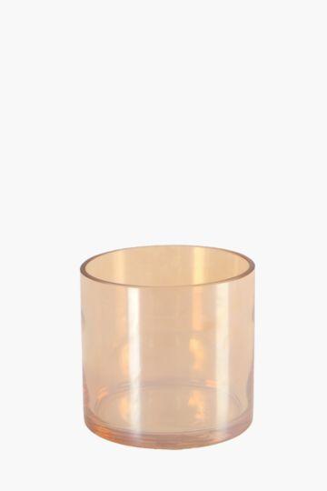 Iridescent Cylinder Vase, 11,5cm