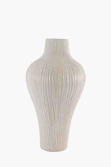 Afro Stone Pod Vase Large