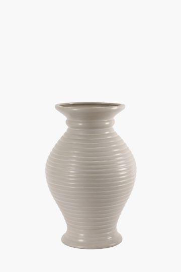 Ribbed Belly Vase Large