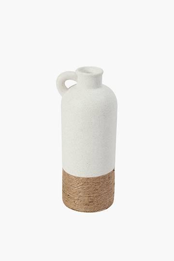 Woven Rope Ceramic Vase