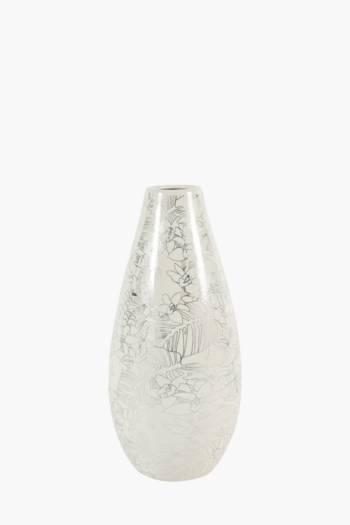 Floral Ceramic Vase