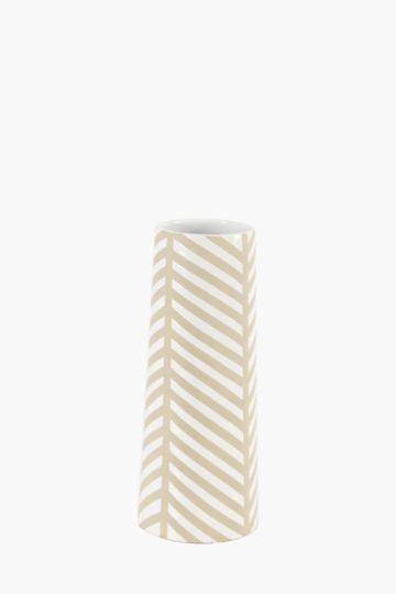 Tribal Line Ceramic Vase
