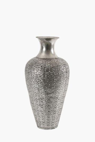 Floral Cut Metal Urn Extra Large