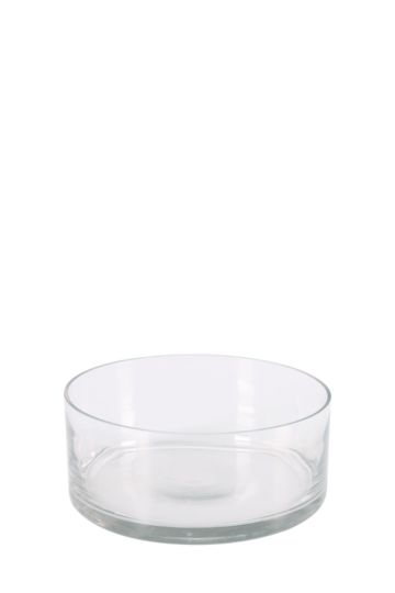 Glass Cylinder 8x30cm Vase