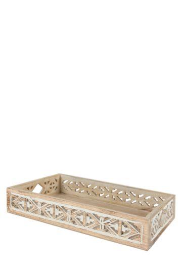 Zanzibar Wooden Carved Tray