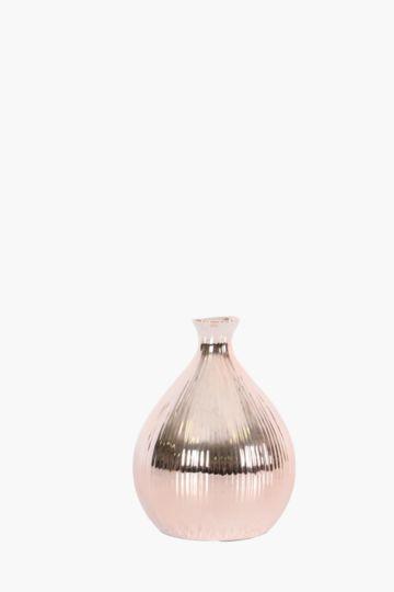 Linear Ceramic Bulb Vase