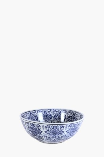 Delft Floral Decor Bowl