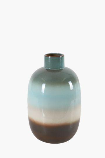 Seascape Belly Vase Large