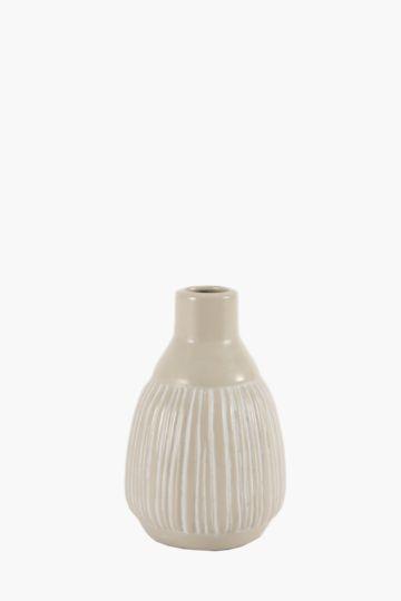 Textured Bud Vase