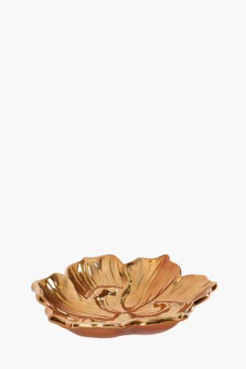 Flower Ceramic Decor Plate