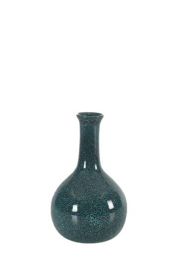 Reactive Glaze Bulb Vase