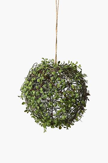 Hanging Leaf Wire Ball