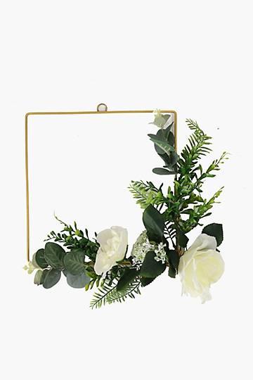 Hanging Rose Wreath
