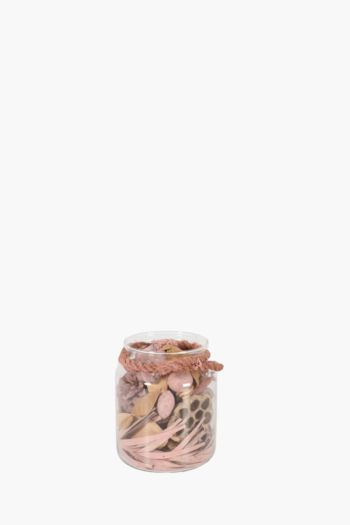 Floral Assorted Deco Pack In Jar