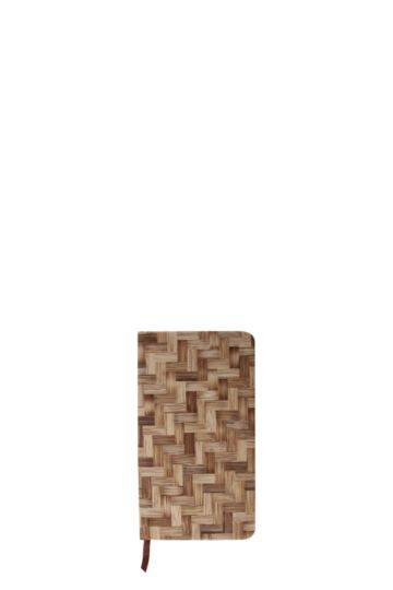 Zig Zag Wooden Notebook