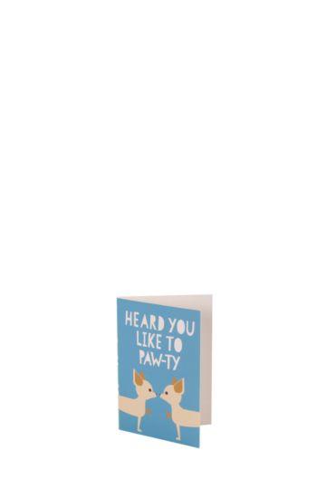 Battersea Dog Mini Card