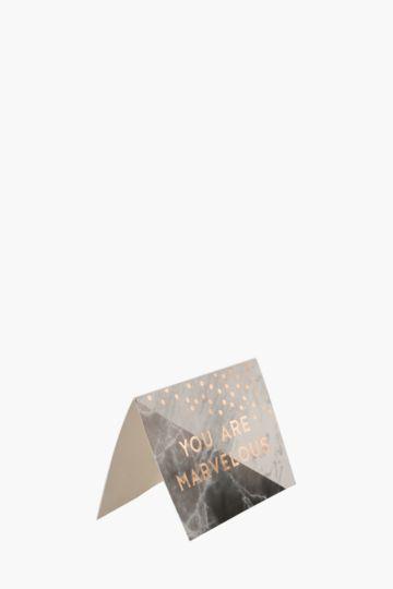 Marblelous A6 Card