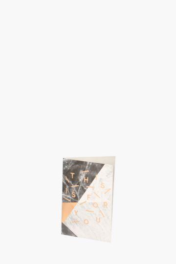 Marblelous Mini Card