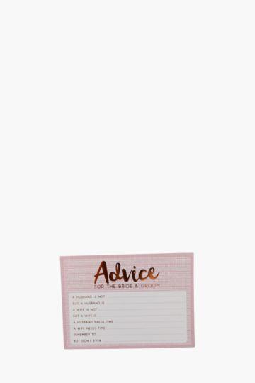 Script A6 Card