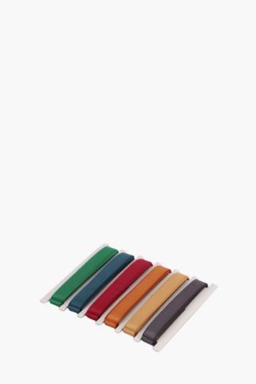 Pack Of 6 Organza Ribbon, 2m
