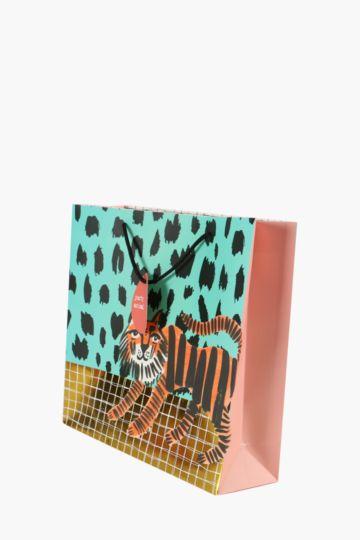 Tiger Print Bag Medium