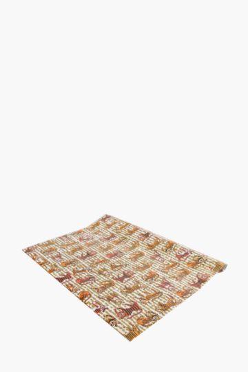 Tiger Print Wrap 1mx70cm