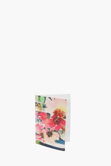 Floral A6 Card