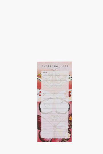Boho Butterfly Shopping List