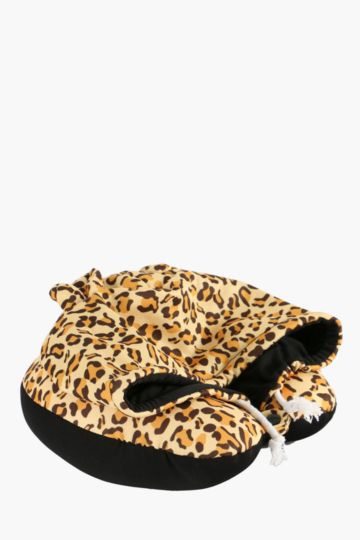 Tiger Hooded Travel Pillow