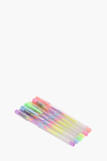 6 Scented Gel Pens