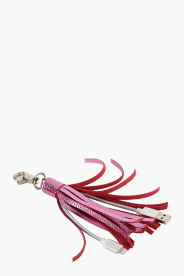 Tassle Key Chain Cable
