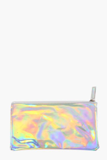 Abstract Iridescent Pencil Case