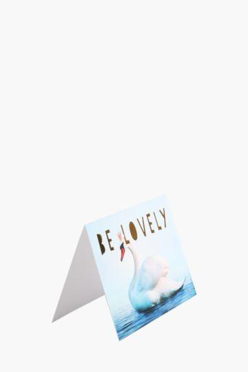 Swan Card A6