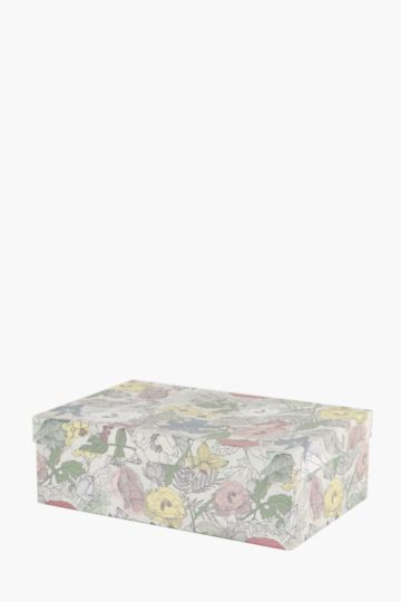 Floral Storage Box Large