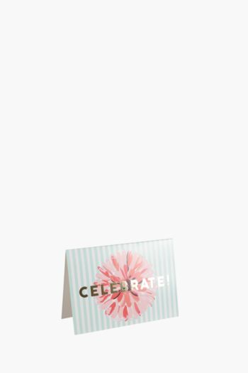 Floral Mini Card